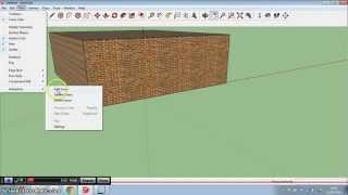 How to make a flying movie in Sketchup