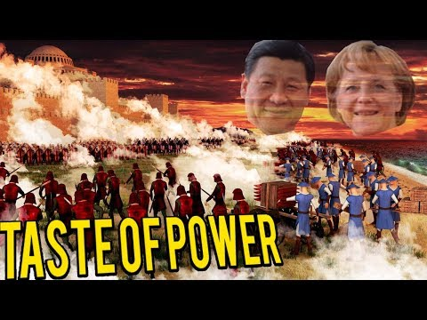 CHINA VS EUROPE! New HISTORICAL RTS - TASTE OF POWER