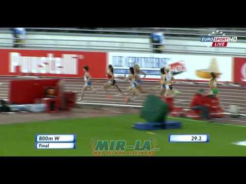 Yelena ARZHAKOVA 1:58.51 - 800m  European Athletics Championships Helsinki 2012