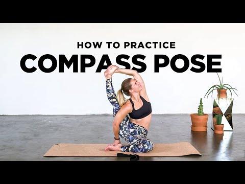 How to do Compass Pose Learning Parivrtta Surya Yantrasana