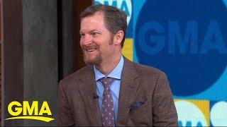 Dale Earnhardt Jr. discusses how he quit smoking l GMA Digital