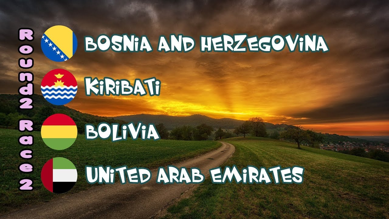Epic 240 race 50 - Bosnia and Herzegovina vs  Kiribati vs  Bolivia vs   United Arab Emirates