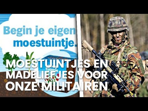Moestuintjes op missie: D66 uitgelachen om 'groen' leger