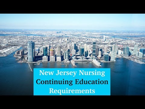 New Jersey Nursing Continuing Education Requirements