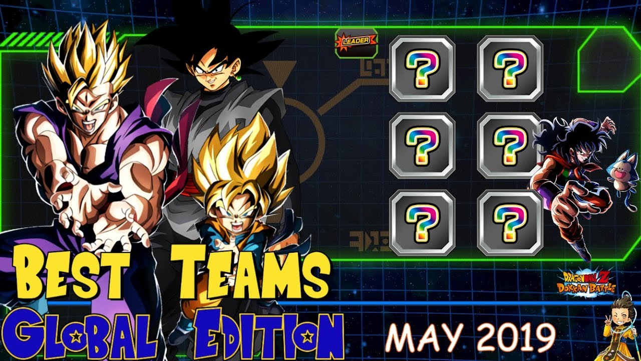 Best Teams Dokkan Battle Global - MAY 2019 Edition | DBZ Dokkan Battle