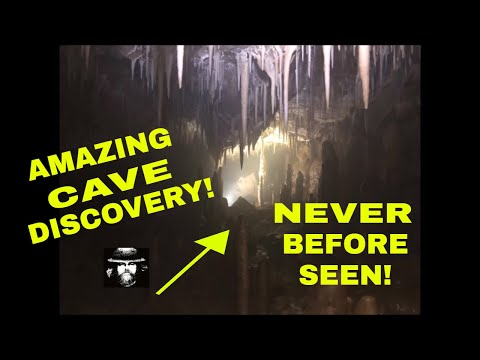 Amazing Cave Discovery: Never Before Seen By Humans!