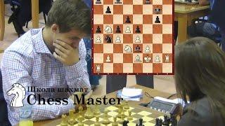 Магнус Карлсен - Юдит Полгар. Блиц между сильнейшим шахматистом и шахматисткой..