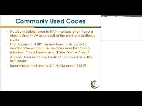 HealthHIV - HIV/AIDS Care: The Diagnosis-Code Series 2