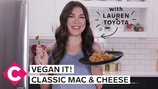 Vegan Macaroni and Cheese | Vegan It! With Lauren Toyota