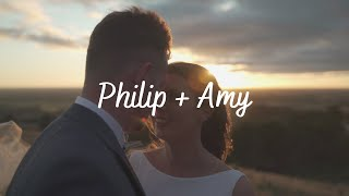 This is Philip and Amy || Rossendale Winery || Cinematic wedding highlight