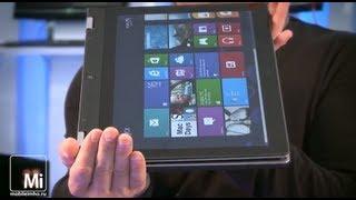 Lenovo Yoga. Ноутбук наизнанку.(Крутим в руках необычный ноутбук lenovo Yoga. Купить в Юлмарт http://goo.gl/hmpcF Тектовая версия и комментарии на http://mobil..., 2013-05-29T17:35:29.000Z)
