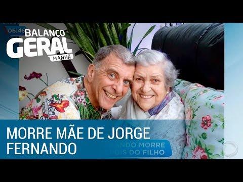 Mãe do diretor Jorge Fernando morre dois meses depois do filho