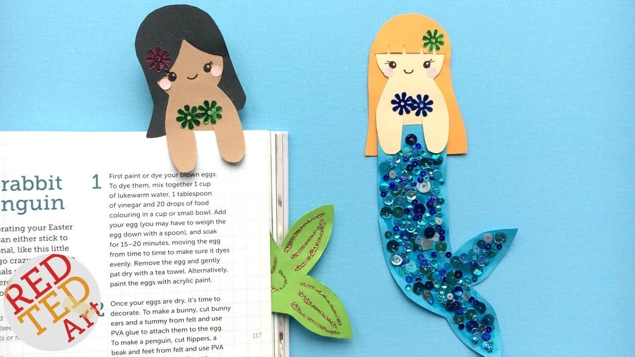 Kawaii Mermaid Bookmark Ideas Cutest Hug A Book Bookmark