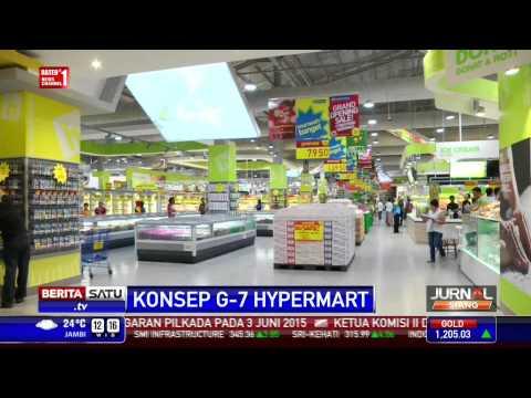Hypermart Investasikan Rp 800 Miliar untuk Pengenalan Konsep G-7