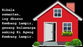 cerita rakyat bahasa Jawa Raden Ayu Bronto Telih