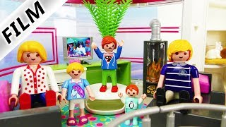 Playmobil Film Deutsch - FAMILIE VOGEL ZIEHT INS SHOPPING-CENTER! IM EINKAUFSZENTRUM WOHNEN