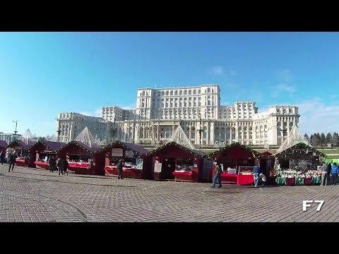 Targul de Craciun Bucuresti 2017 - Piata Constitutiei / Bucharest Christmas Market 2017