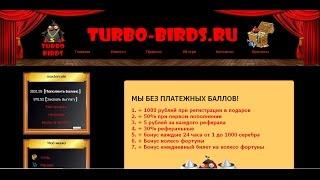 Turbo Birds экономическая игра с выводом денег