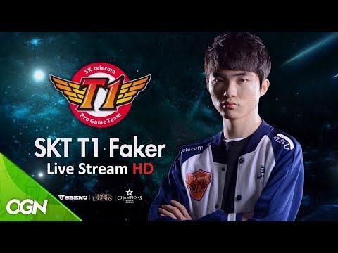 🔴 16/03/2018 SKT T1 Faker Live Stream  | Faker Ryze | Hide on Bush | 페이 커 조이