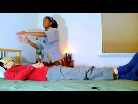 Demonstration Of An Energy Healing Session