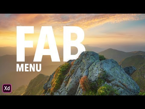 Mastering Adobe XD: Creating a FAB (Floating Action Button) Menu