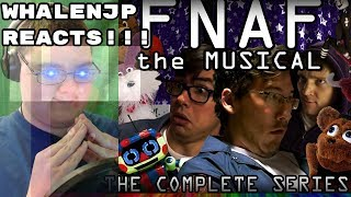FNAF: The Musical SUPERCUT REACTION || YouTubers, Animatronics, And Singers, OH MY!!!
