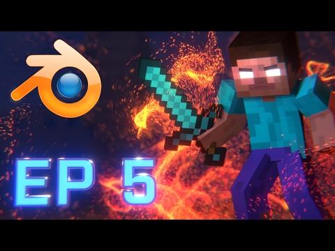 Minecraft Animation Tutorial Episode 5: Final Touches (Blender)