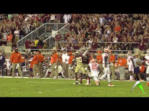 Deondre Francois, Florida State QB vs Clemson