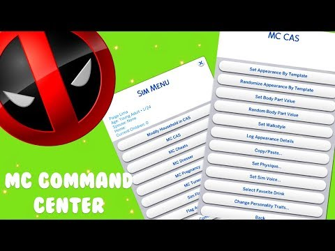 HOW TO INSTALL MC COMMAND CENTER // The Sims 4 Mods