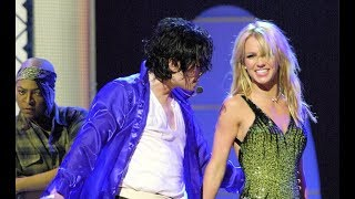 Michael Jackson & Britney Spears Duet - The Way You Make Me Feel (HD Remaster)