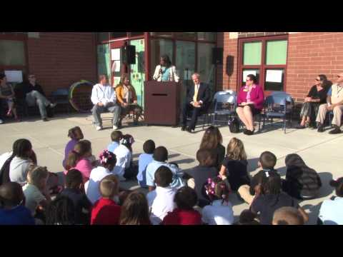 Matheny-Withrow Elementary School, Project Fit America and St. John's Children's Hospital