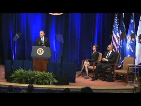 Attorney General Eric Holder's Portrait Unveiling