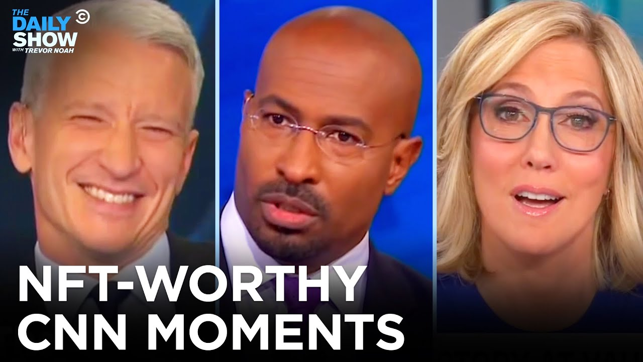 CNN Is Selling Its Greatest Moments As NFTs And We Hope These Make The Cut | The Daily Show