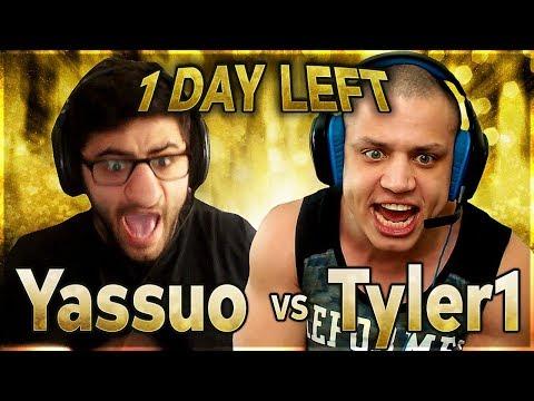 PERFORMING UNDER PRESSURE | YASSUO VS TYLER1 - $10K BET: DAY 21
