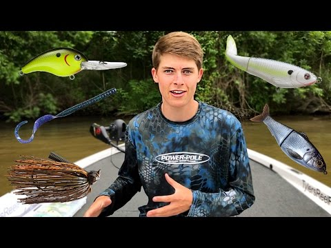 Top 5 Summer Bass Fishing Lures!! Tips & Tricks