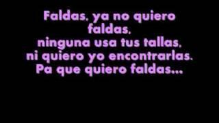Andy & Lucas- Faldas (letra)