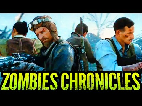 OFFICIAL ZOMBIES CHRONICLES GAMEPLAY TRAILER REACTION FT. WAFFLES, MRTLEXIFY & JC (BO3 Zombies)