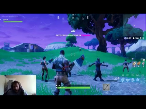 Fortnite First Day Streaming! Watch me progress thru the ranks!