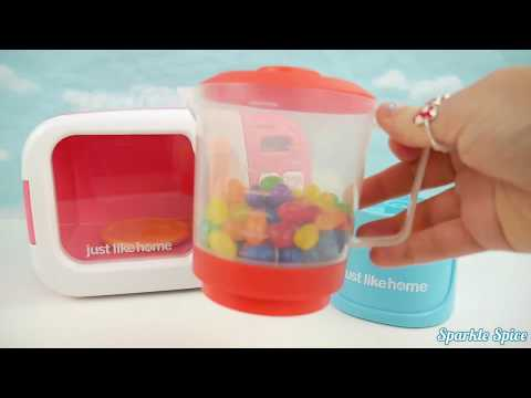 Learn Fruits Colors with Paw Patrol Mer Pup Clip Slime Surprise Toys, Cooking Microwave Oven Playset