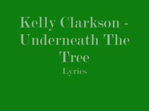 Kelly Clarkson - Underneath The Tree Lyrics
