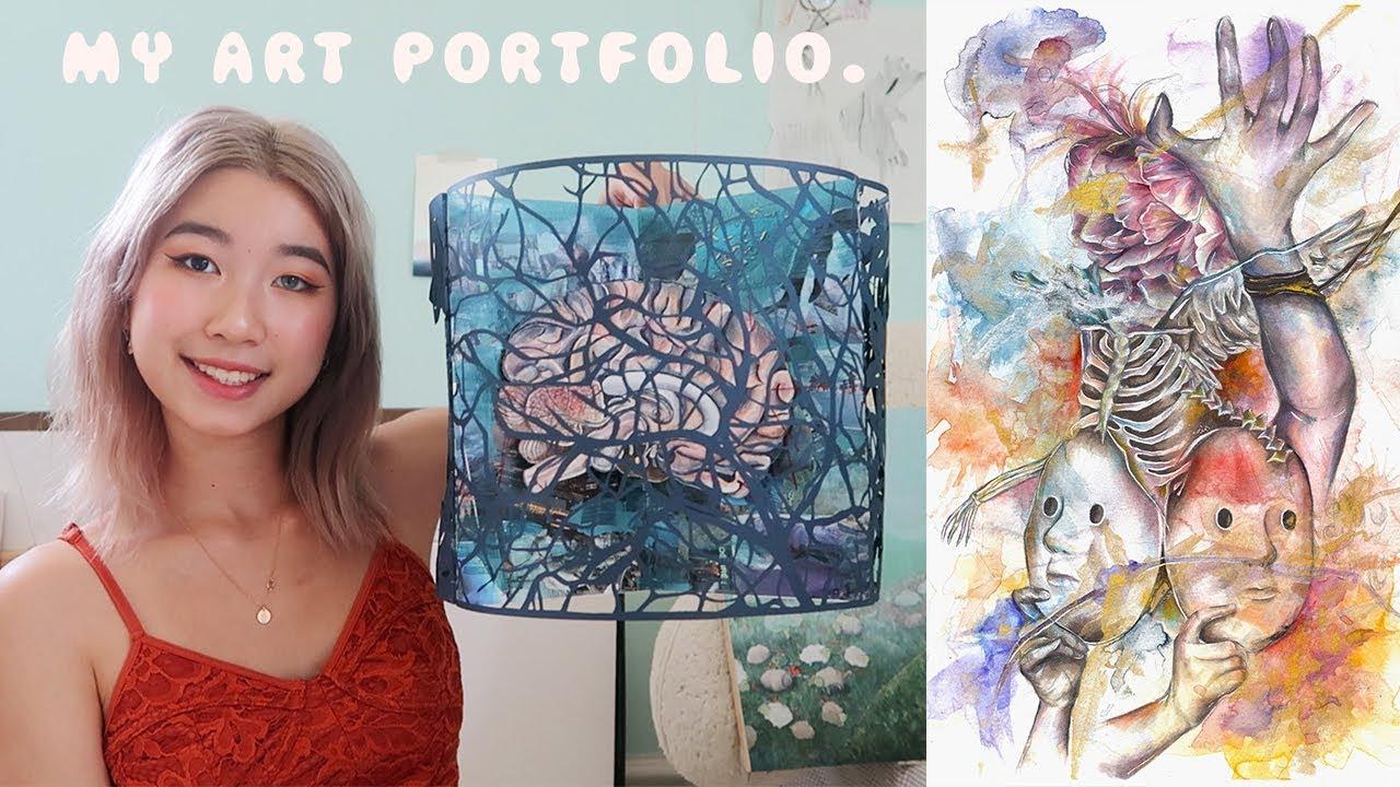 My Art Portfolio (Accepted at Pratt, Parsons, MICA, SAIC ...