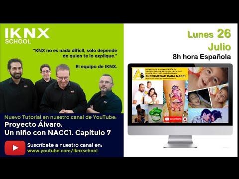 TIPS KNX Nº175. Proyecto Álvaro un niño con NACC1. Capítulo 7. El inicio de un sueño 1 de 3.