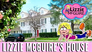WE WENT TO LIZZIE MCGUIRE'S HOUSE!