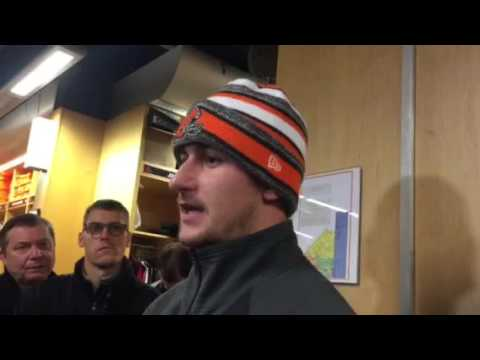 Johnny Manziel on Josh Gordon