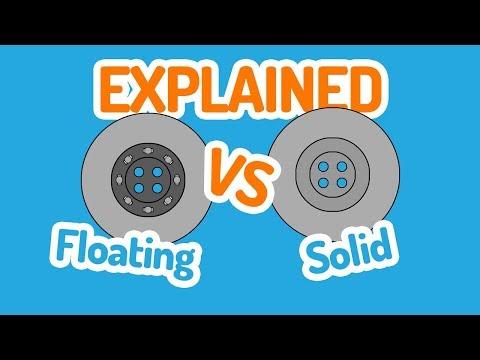 Floating VS Solid Brake Disc Rotor Explained!