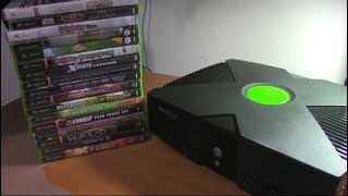 My Original Xbox Game Collection