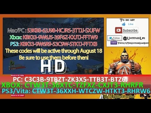 [Full-Download] Borderlands 2 Legendary Shift Codes ... Borderlands 2 Golden Key Shift Codes