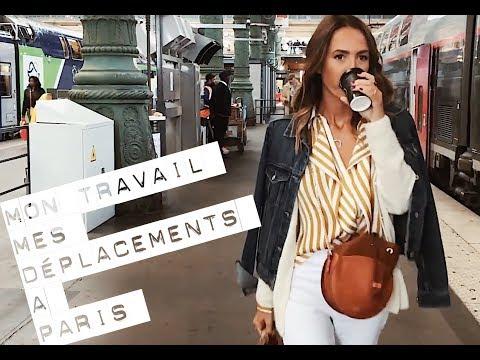 SUIVEZ MOI DANS MES DÉPLACEMENTS PROFESSIONNELS  À PARIS !
