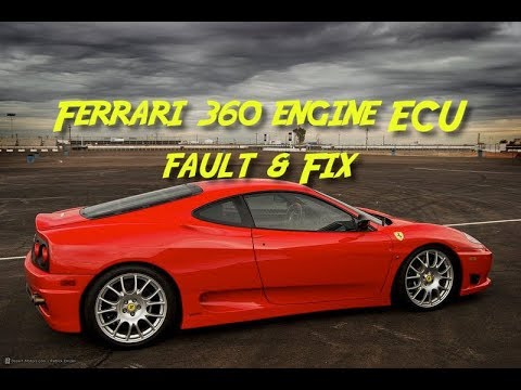 Ferrari 360 Engine ECU Problem and Fix F360