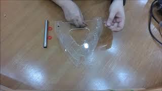 วิธีประกอบ Spool Holder ที่วางม้วนเส้นพลาสติกสำหรับ 3D Printer